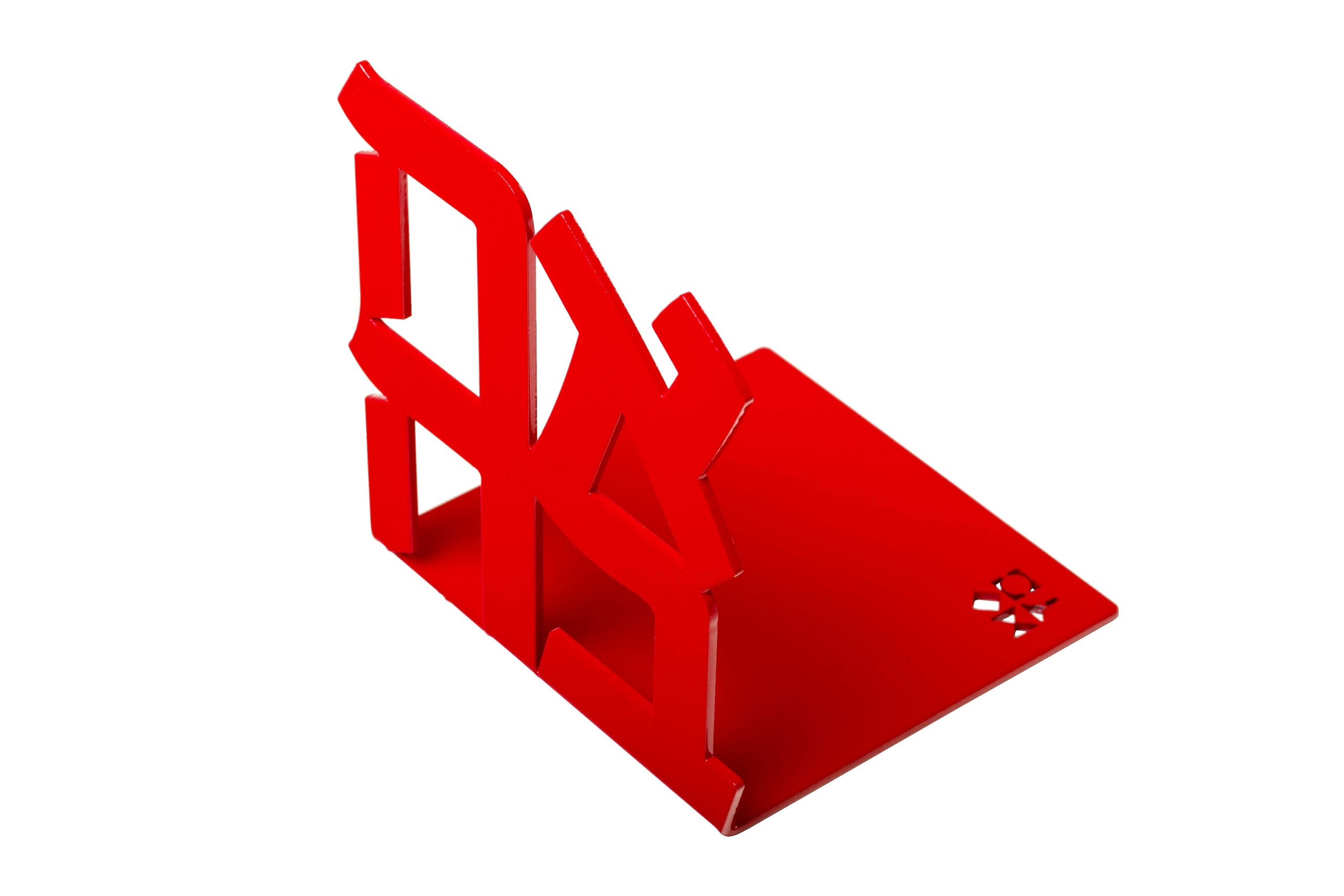 Ahava Bookend (Red)