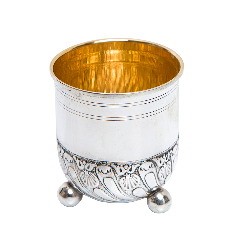 Kiddush Cup – Silver Plated