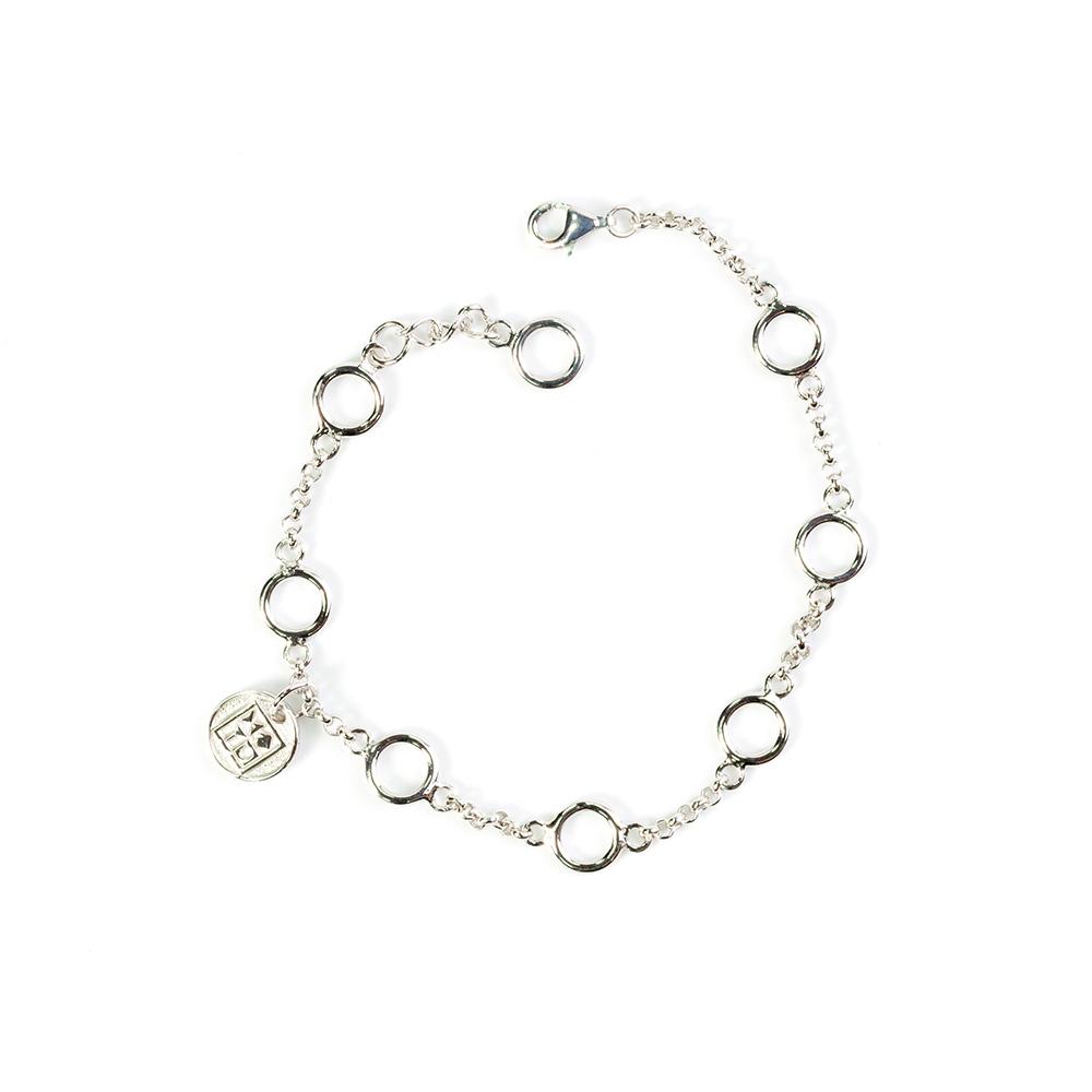 Pendant Bracelet, Silver
