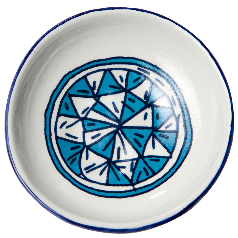 Bowls For The Pithom And Ramses Passover Seder Plate (Blue)