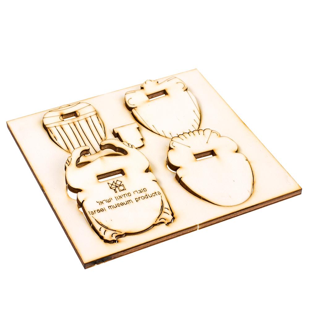 Scarab Wood Puzzle