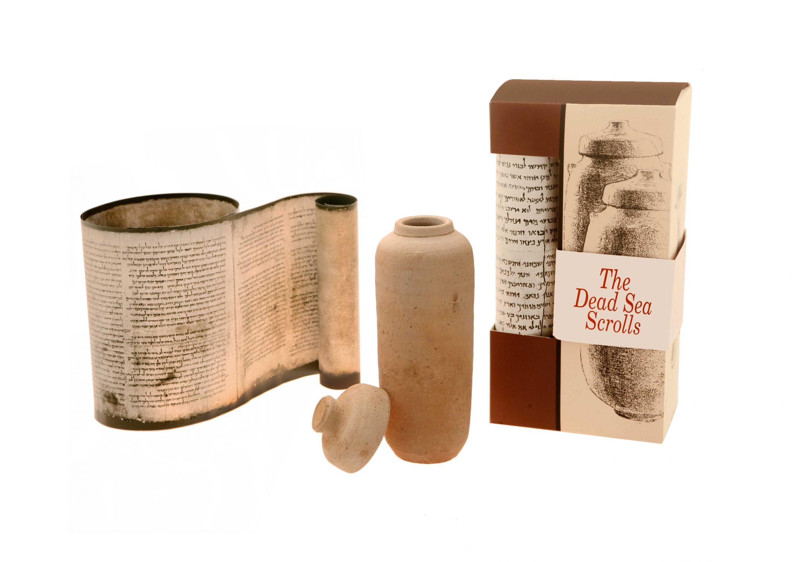 Replica Of The Dead Sea Scrolls, English