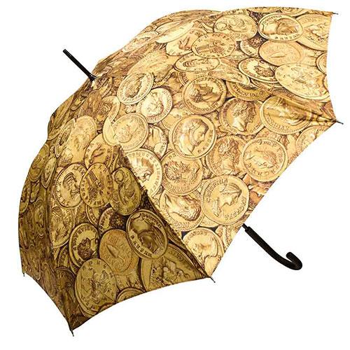 Roman Gold Coins Umbrella