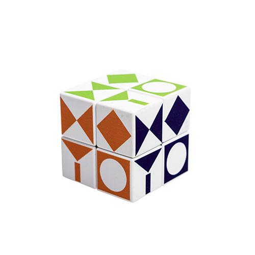 V-Cube (Rubik's Cube) With The Museum Logo