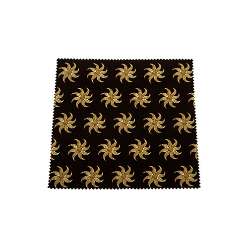 Microfiber Cloth For Cleaning Glasses – Star Pattern
