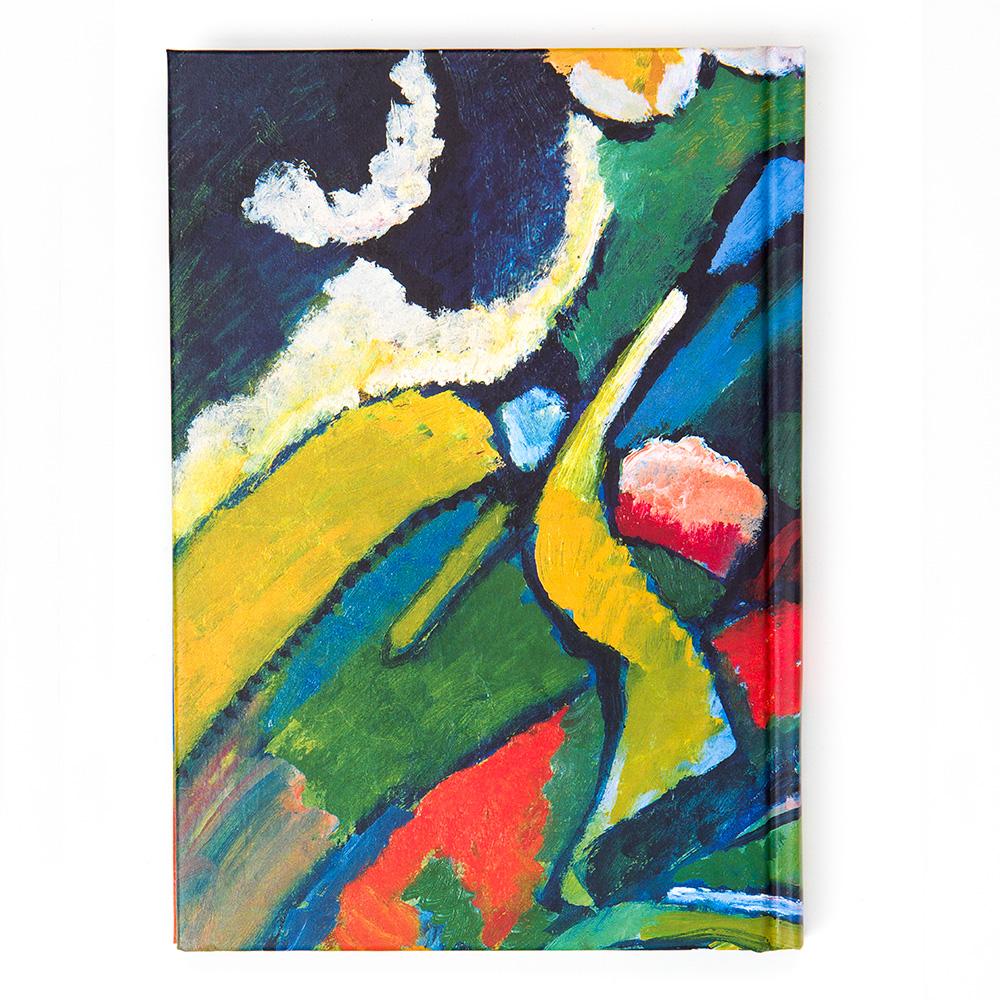 A6 Kandinsky Notebook: TheTwo Horsemen