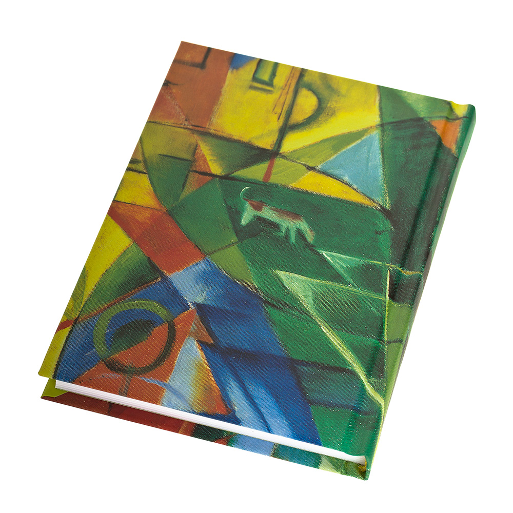 Franz Marc Notebook: Landscape With House, Dog And Cow