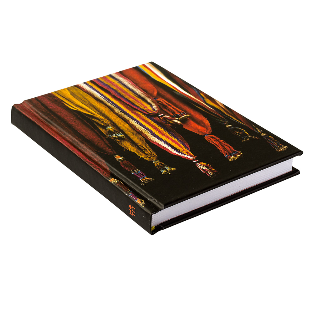 Notebook With Colorful Tassel Pattern