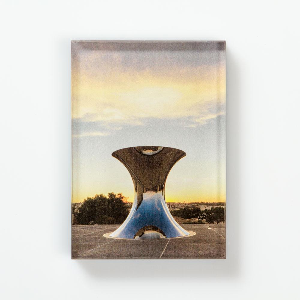 Anish Kapoor, Turning The World Upside Down, Jerusalem