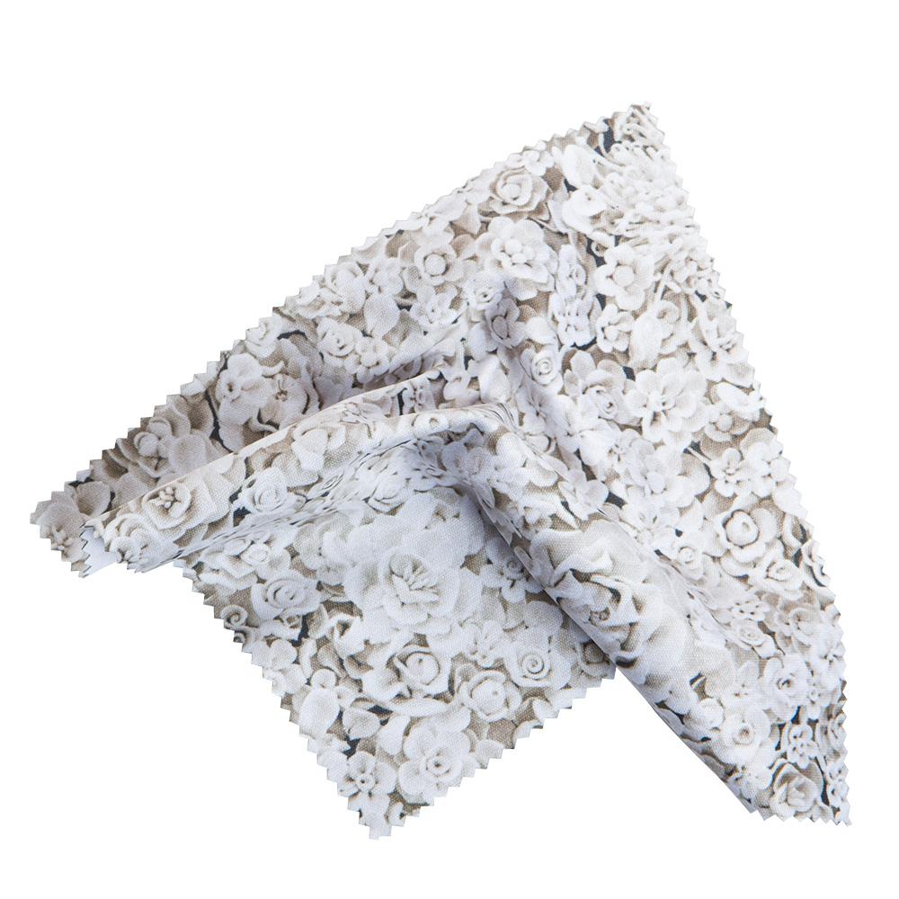 "14.5 X 14.5 Ai Weiwei ""Flowers"" Microfiber Cloth"