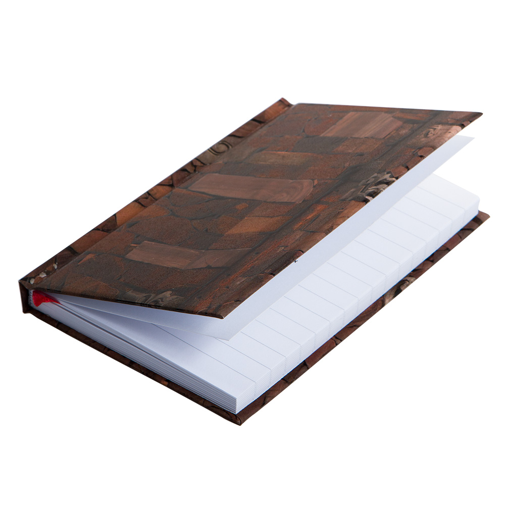 """Ai Weiwei """"Wood"""" Notebook With Elastic Band"""