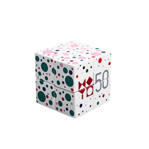 Confetti V-Cube (Rubik's Cube)