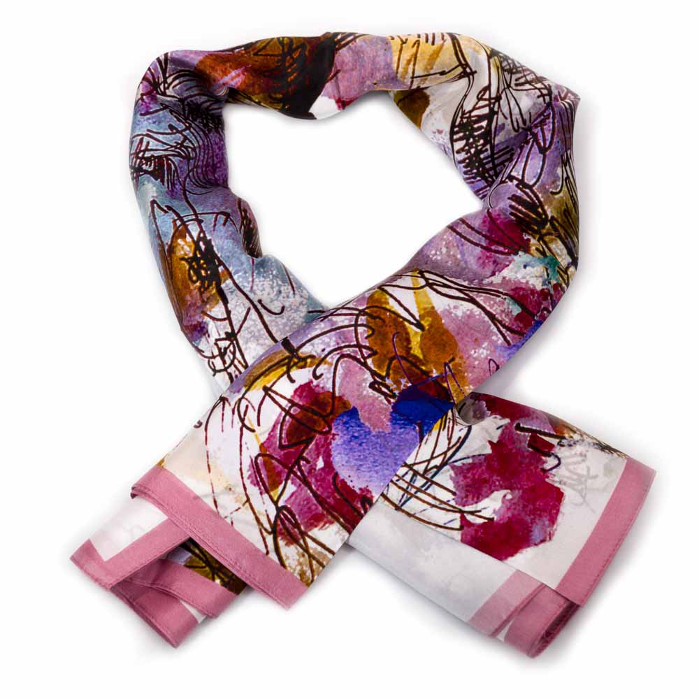 Anna Ticho Bouquet Of Flowers Scarf