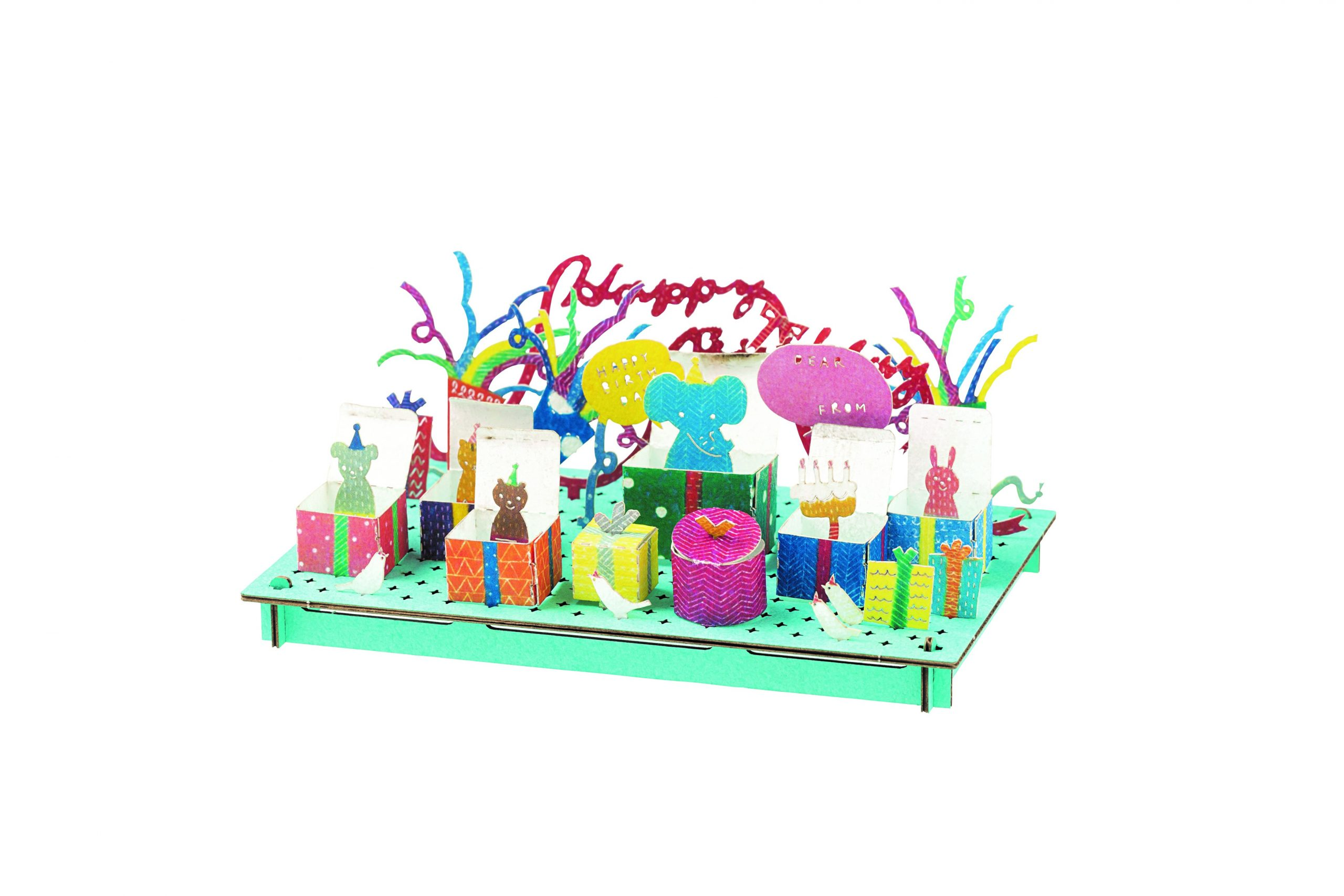 3D Birthday Card