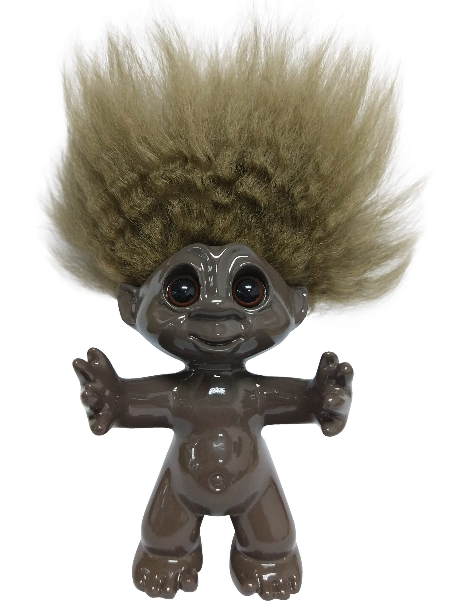 Goodluck Troll – Brown With Brown Hair