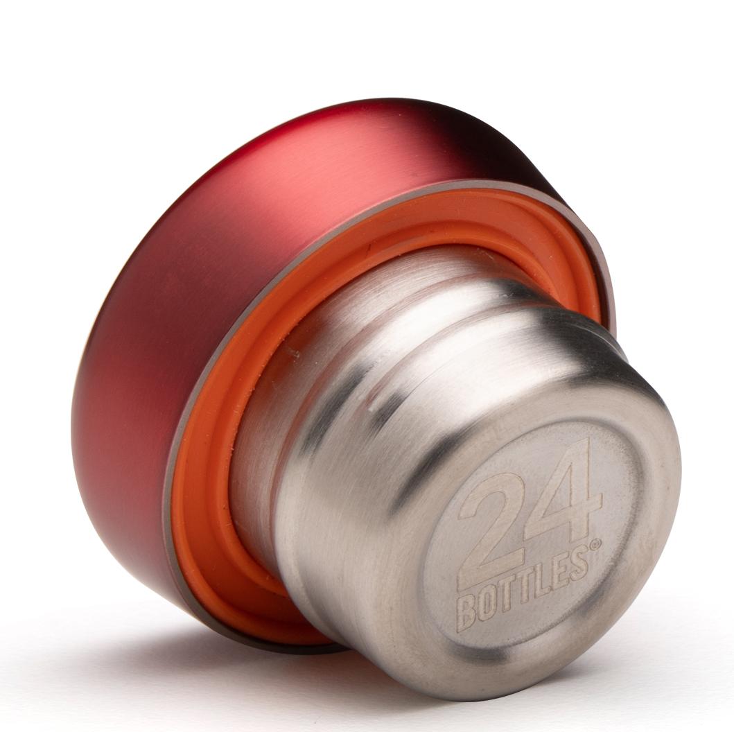 24bottles® Clima Bottle Lid – Chianti Red