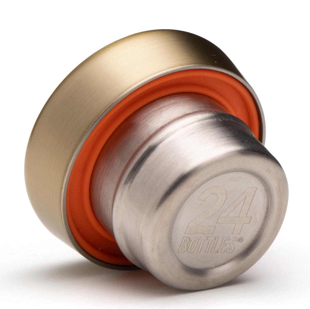 24bottles® Clima Bottle Lid – Prosecco Gold