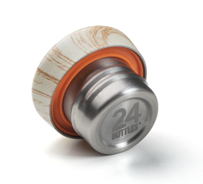24bottles® Clima Bottle Lid – Wood
