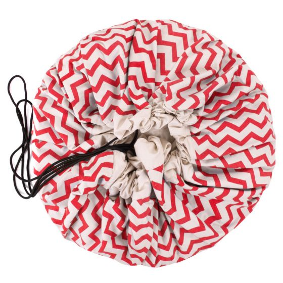 The Play&Go® Bag – Red Zigzag