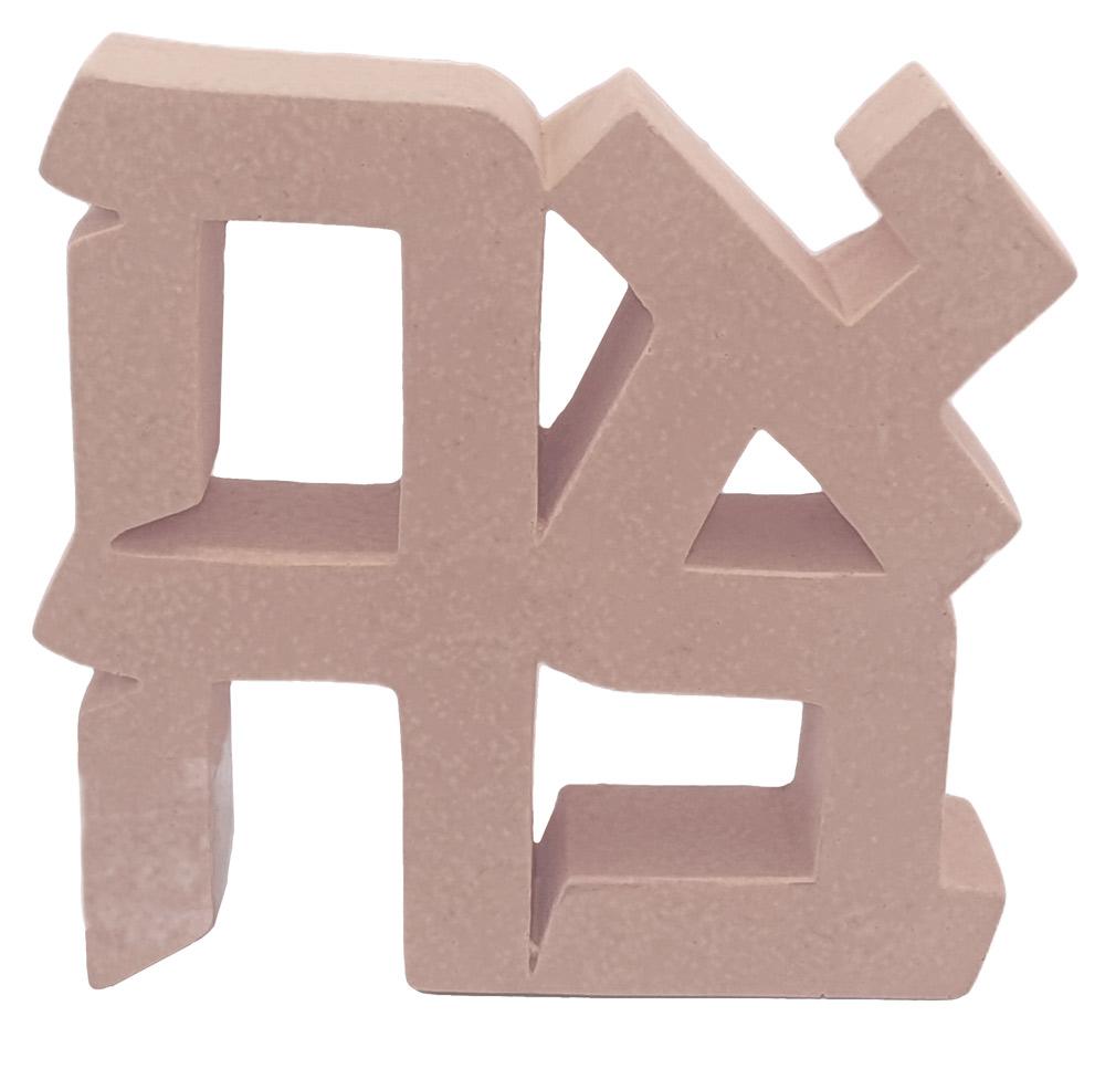 Ahava Paperweight (powder Pink Concrete)
