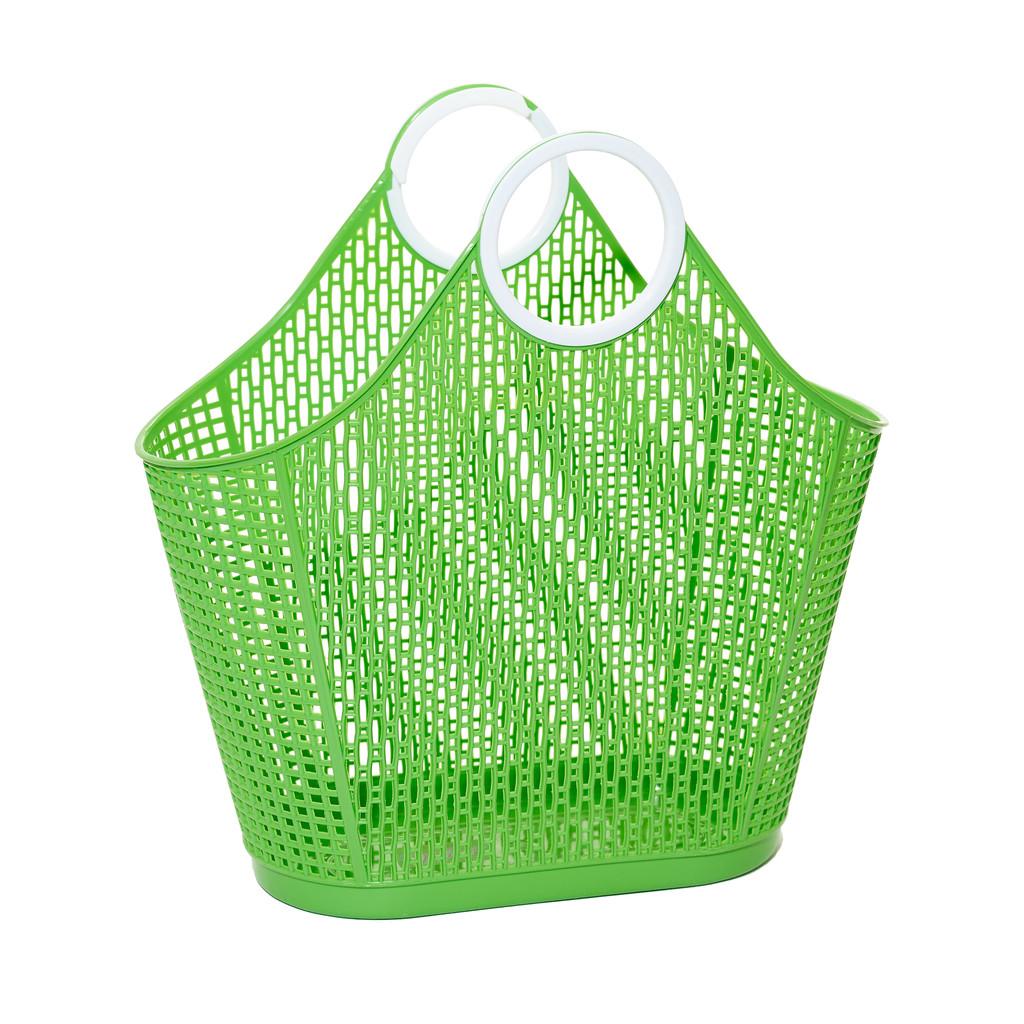 Sun Jellies Fiesta Shopper – Green (large)