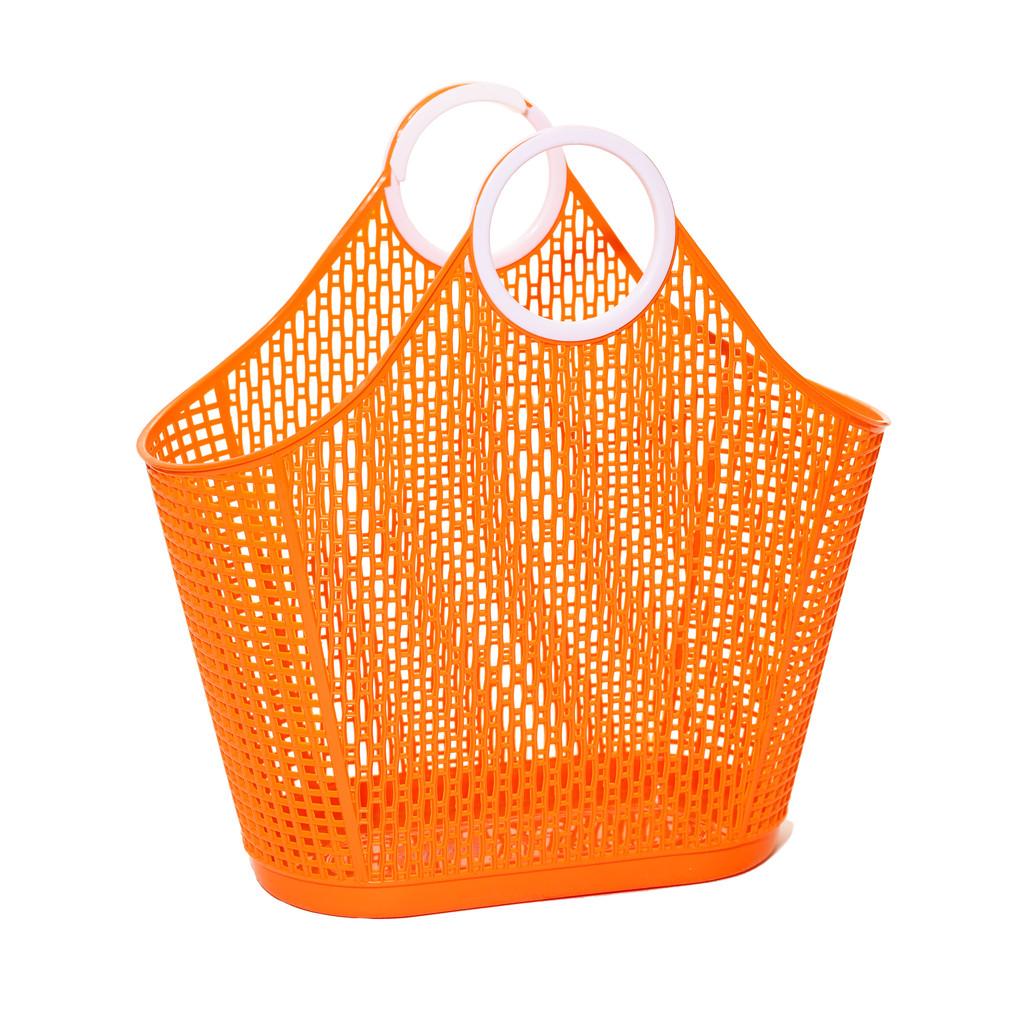 Sun Jellies Fiesta Shopper – Orange (large)