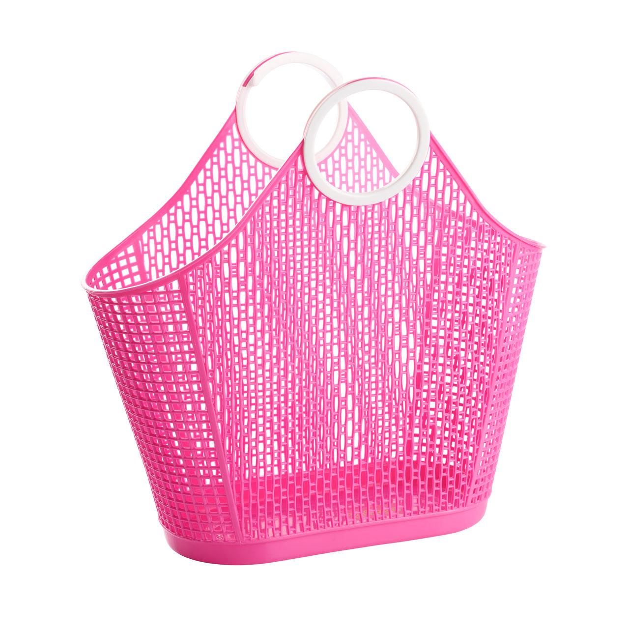 Sun Jellies Fiesta Shopper – Pink (large)