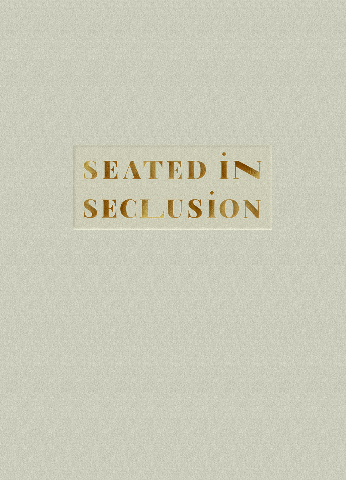 Seated In Seclusion: Bratslav Hasidim And Contemporary Design