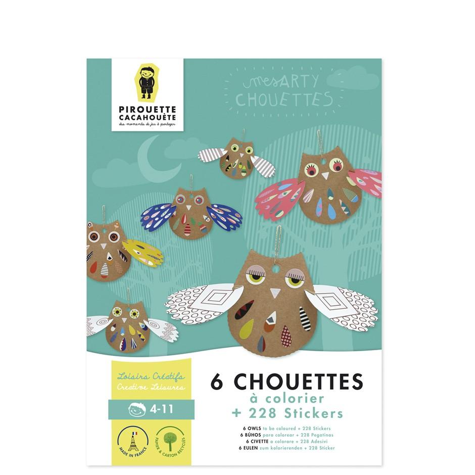 Arty Owls Creative Kit