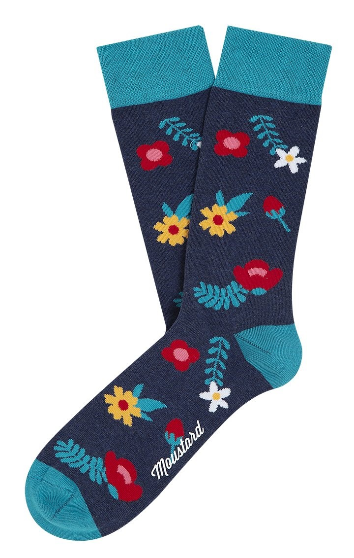 Socks – Blue Blossom