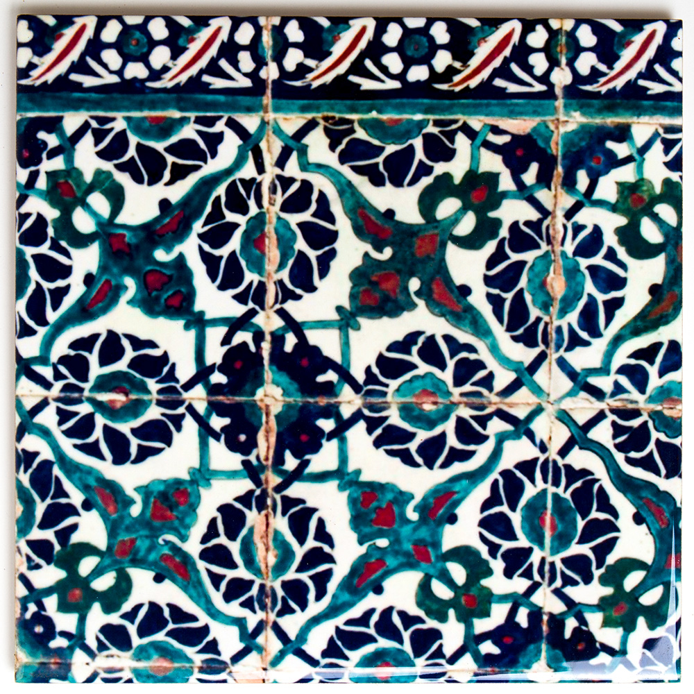 Armenian-style Ceramic Tile – Medium