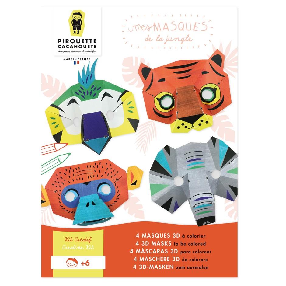 Jungle Masks Kit