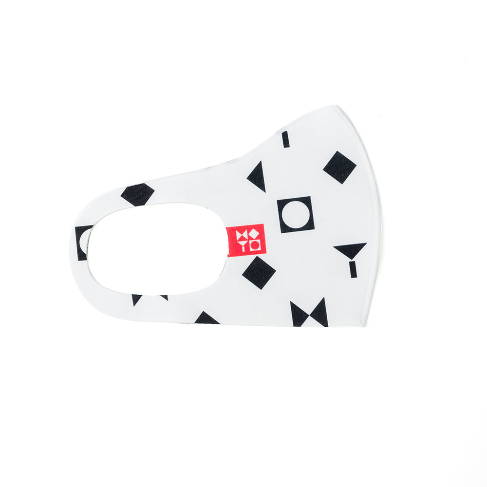 Face Mask With The Israel Museum Logo (white)