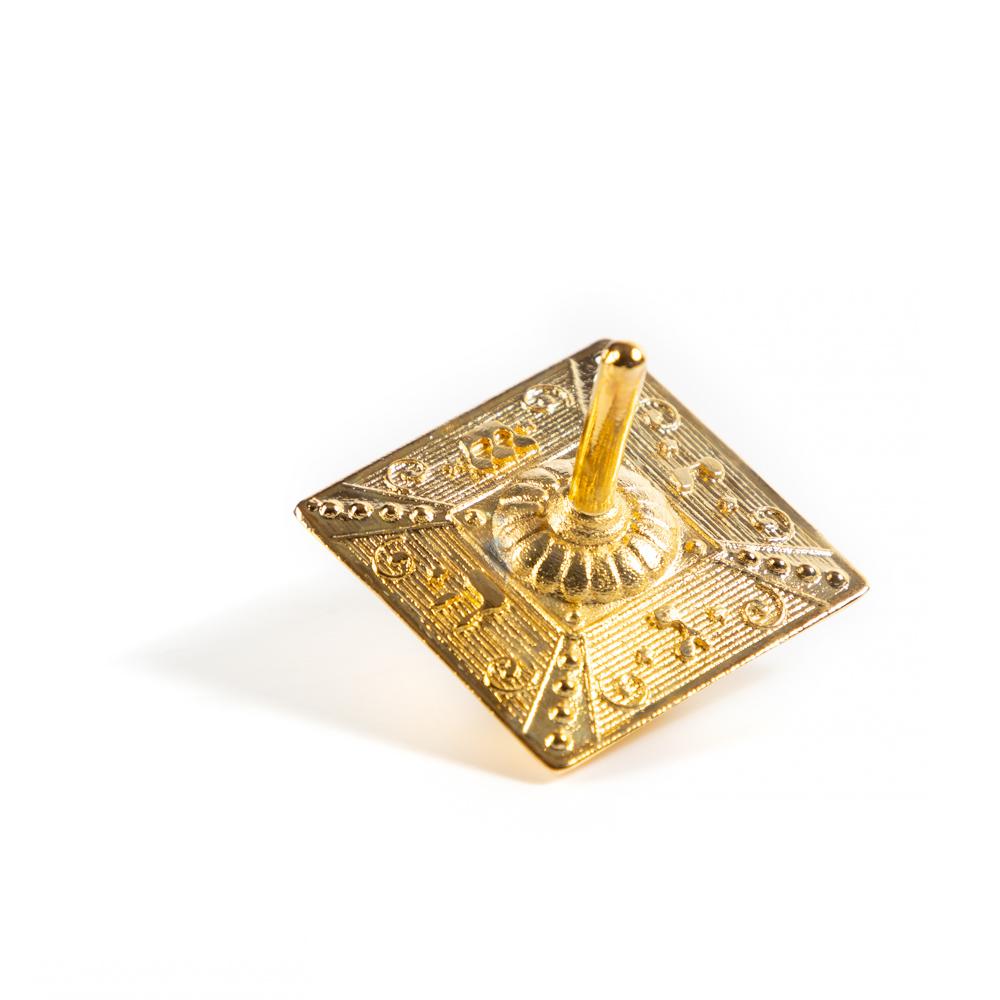 Spinning Top (gilded Brass)
