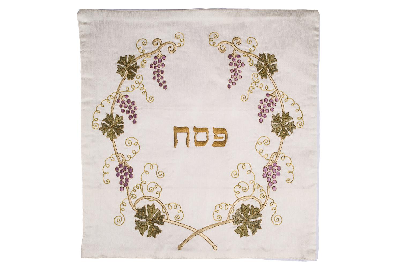 Matzah Cover – Golden Vine