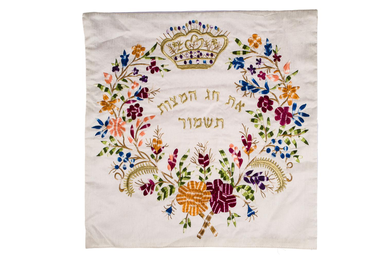 Matzah Cover – Spring Blossom