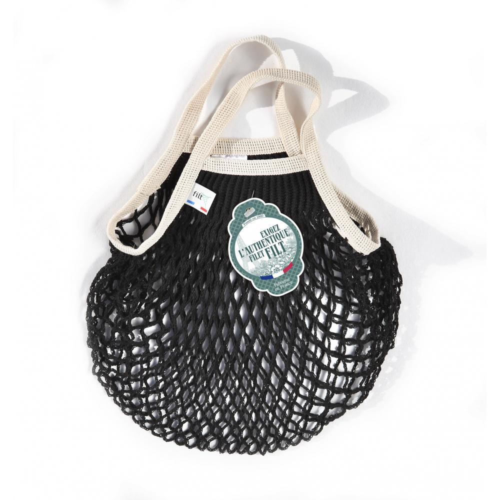 Filt Kids' Mesh Tote Bag – Black