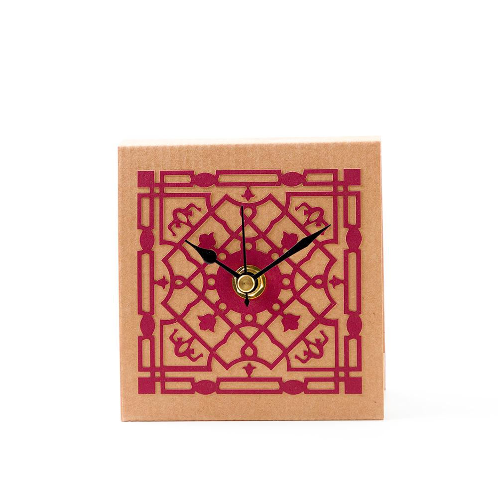 Mamluk Table Clock – Red