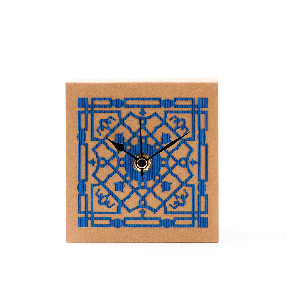 Mamluk Table Clock – Blue