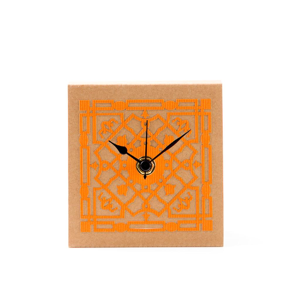 Mamluk Table Clock – Orange