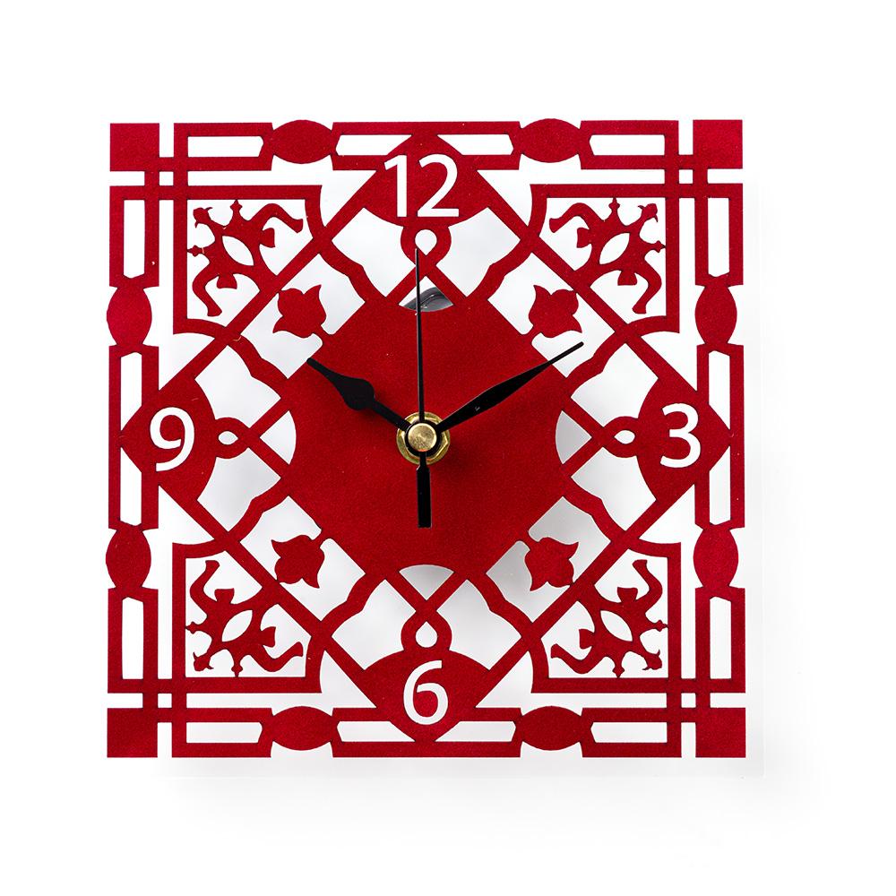 Mamluk Wall Clock – Red