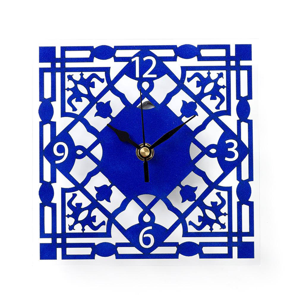 Mamluk Wall Clock – Blue