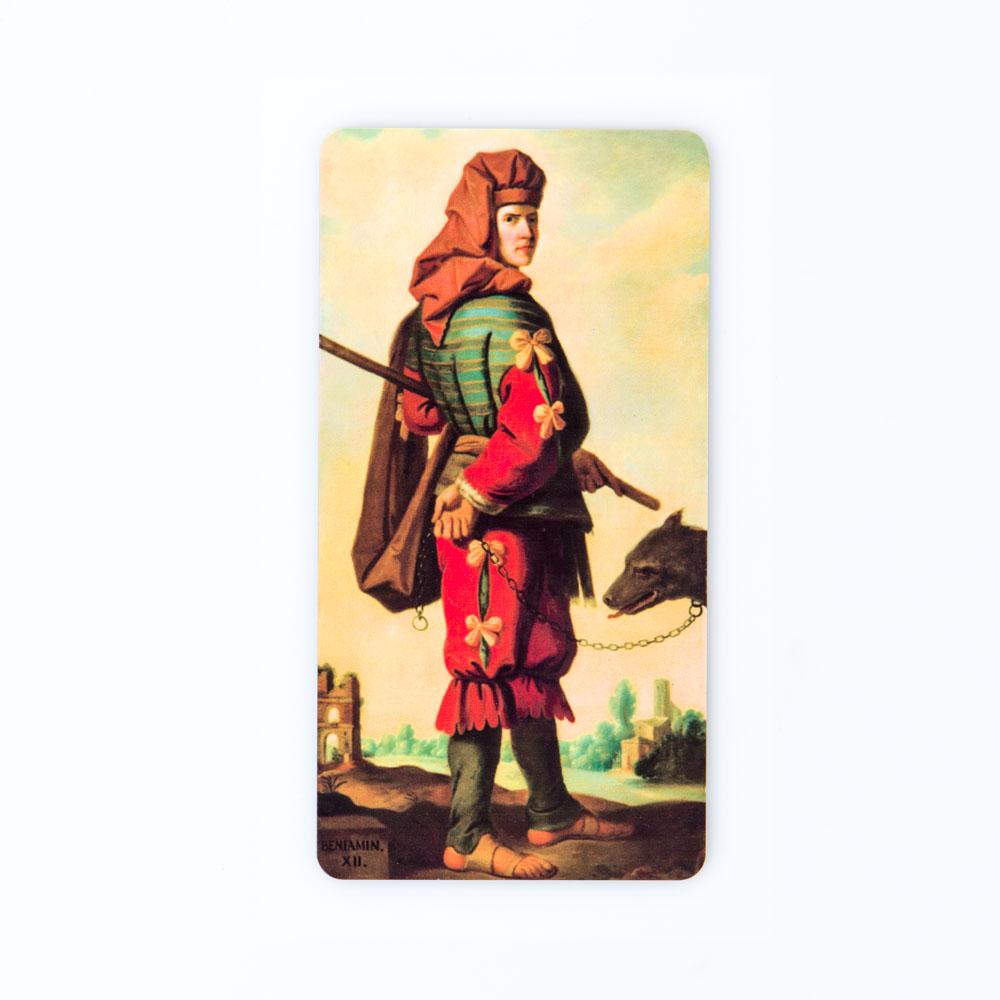"Magnet, Zurbarán, ""Jacob And His Twelve Sons"" – Benjamin"