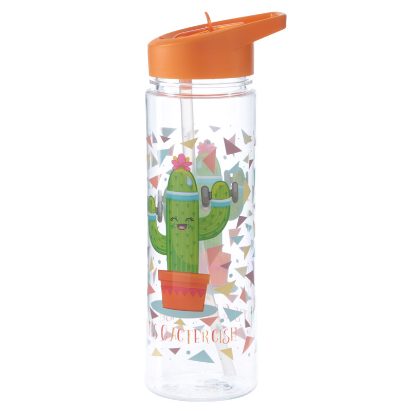 Let's Cactercise Kids' Water Bottle