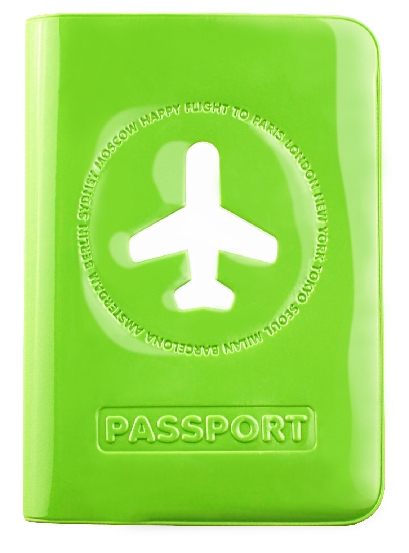 Happy Flight Passport Cover