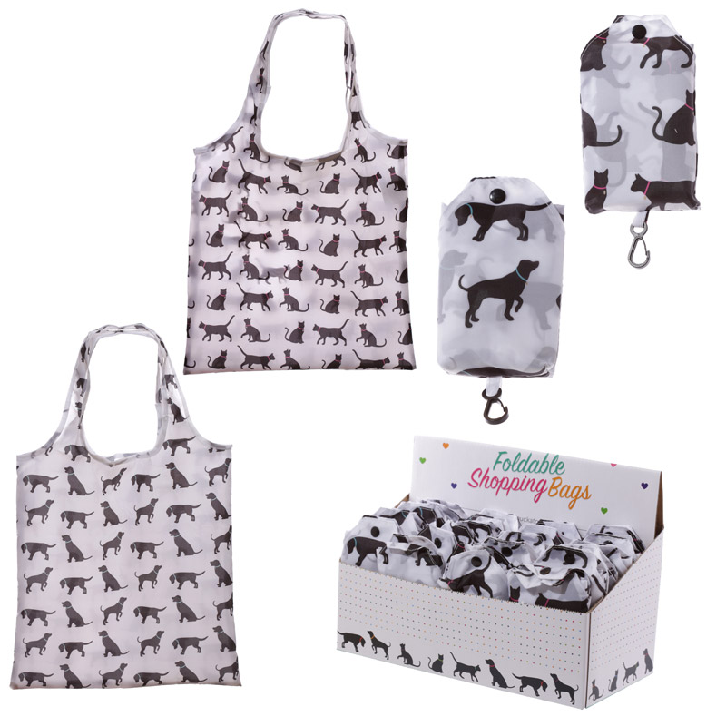 Cat And Dog Foldable Bag