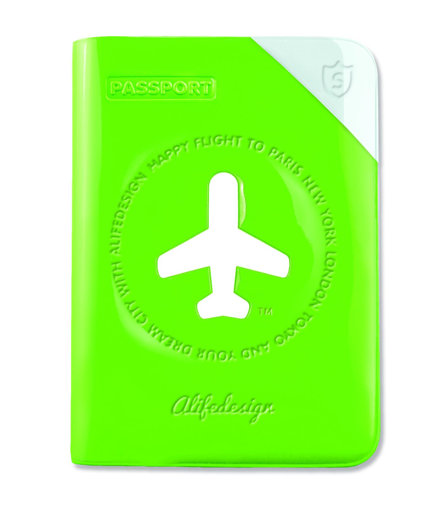 Happy Flight Passport Shield
