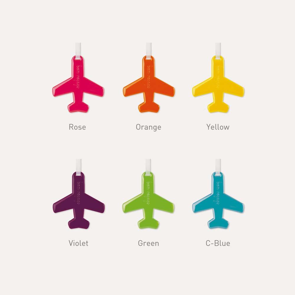Happy Flight Luggage Tag – Airplane Design