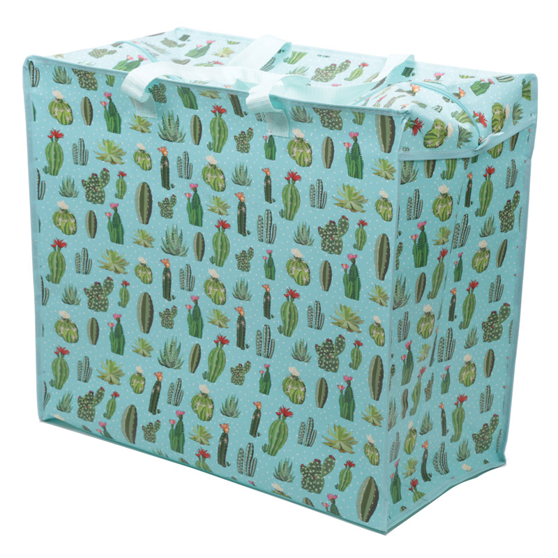 Cactus Laundry Storage Bag