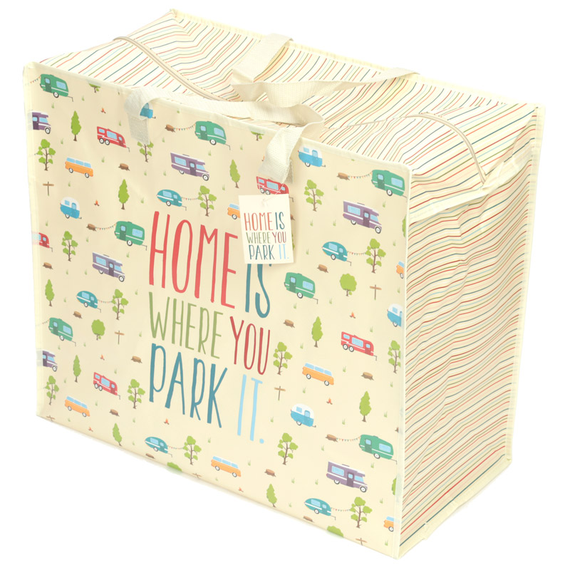 Home Is Where You Park It Laundry Storage Bag
